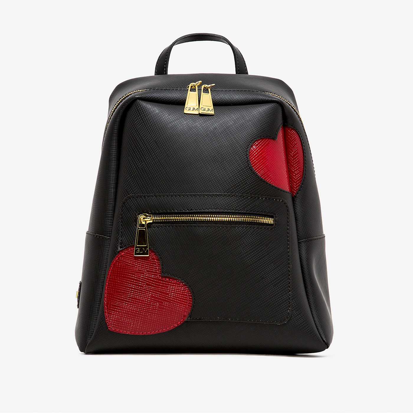 GUM: GLOSSY HEART PATTERN NINE BACKPACK
