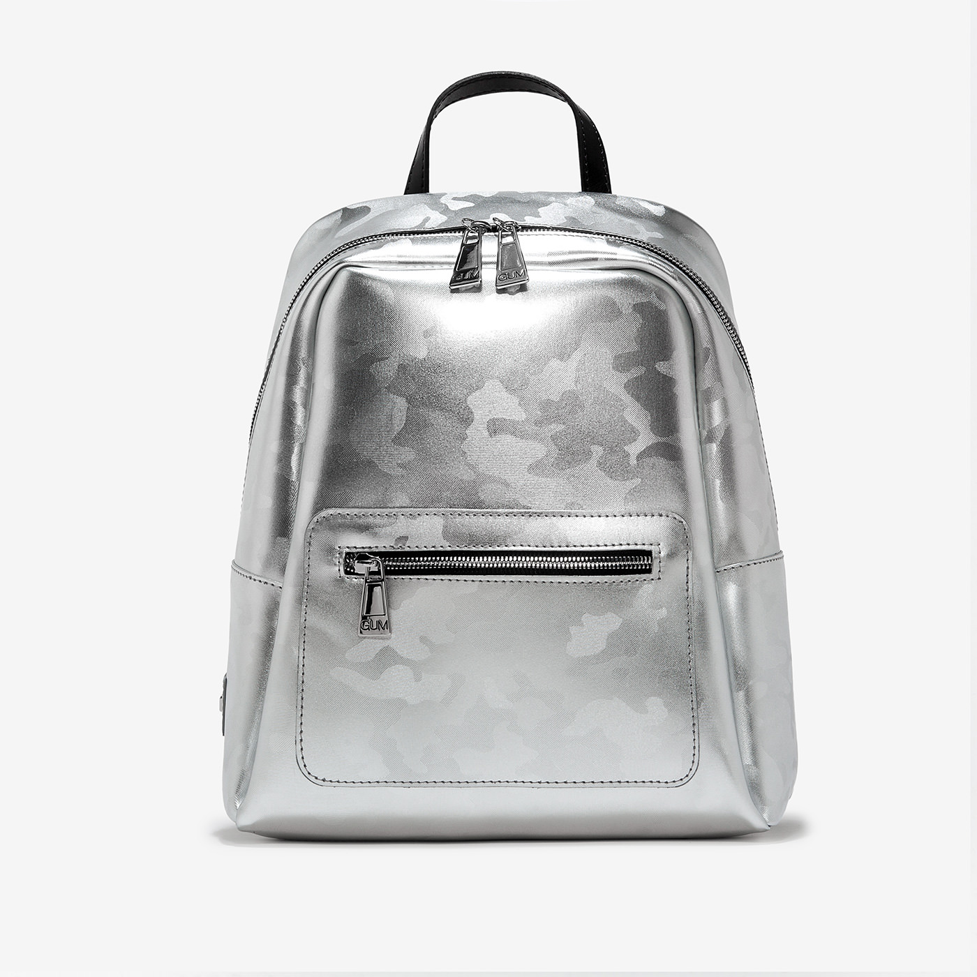 GUM: LAMINATED CAMOUFLAGE NINE BACKPACK